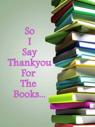 Thank you for the books.