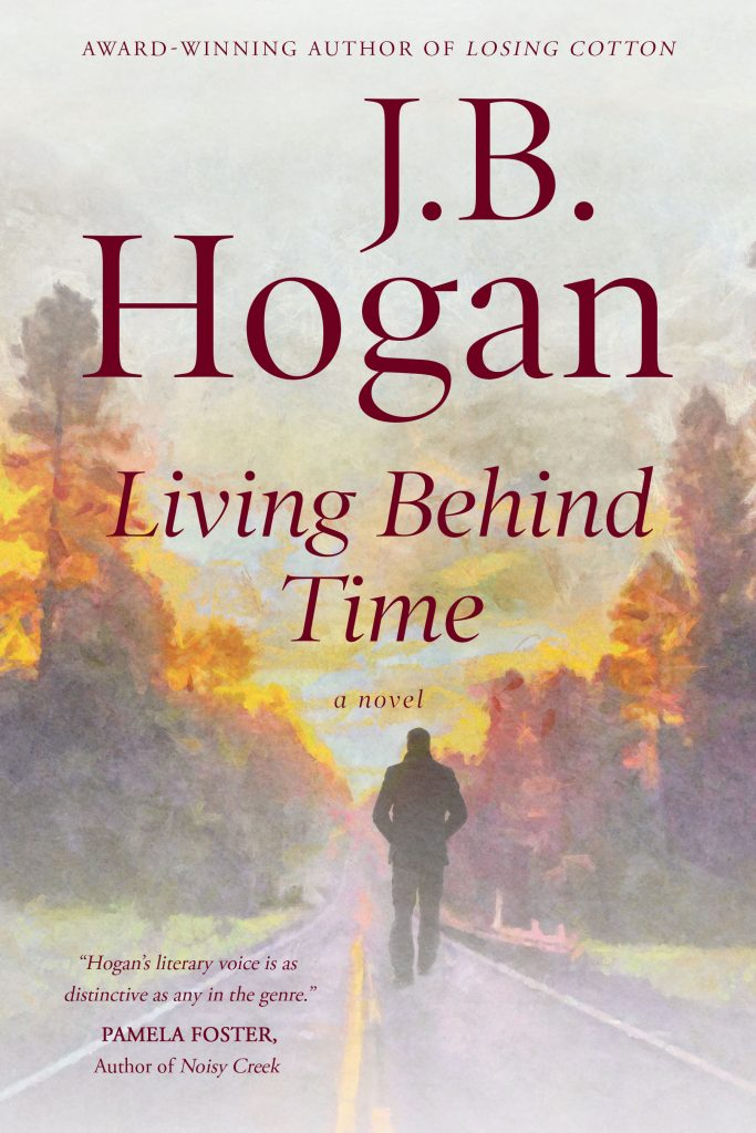 Book Cover: Living Behind Time