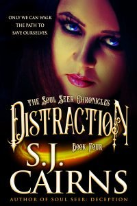 Cover: Distraction by S.J. Cairns