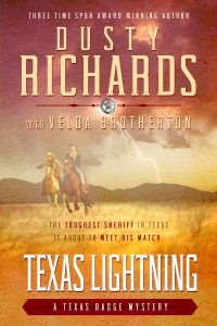 Cover: Texas Lightning by Dusty Richards