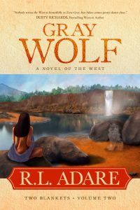 Cover: Gray Wolf by R. L. Adare