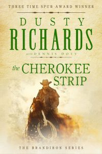 Cover: The Cherokee Strip by Dusty Richards